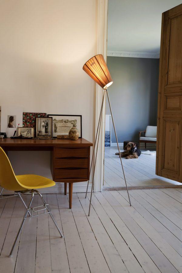 oslo wood vloerlamp ove rogne northern lighting