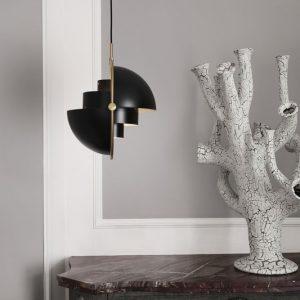 Multi Lite Hanglamp Koper ontwerp Louis Weisdorf Gubi