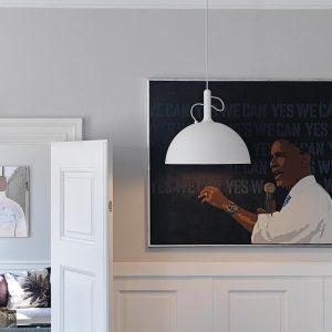 Adjustable Hanglamp by Rikke Hagen & Andreas Lund Watt a Lamp Winkel Smukdesign
