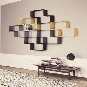 Dedal Boekenplank Design Mategot Gubi