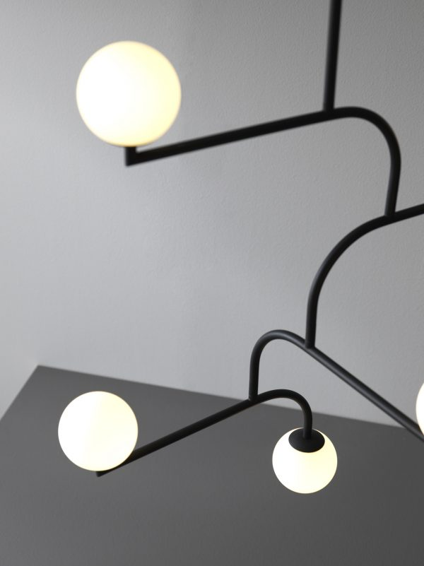 Mobil 100 Hanglamp Mobile 100 Pendant Design Monika Mulder