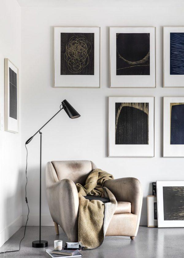 Birdy Vloerlamp Design Birger Dahl Northern Lighting