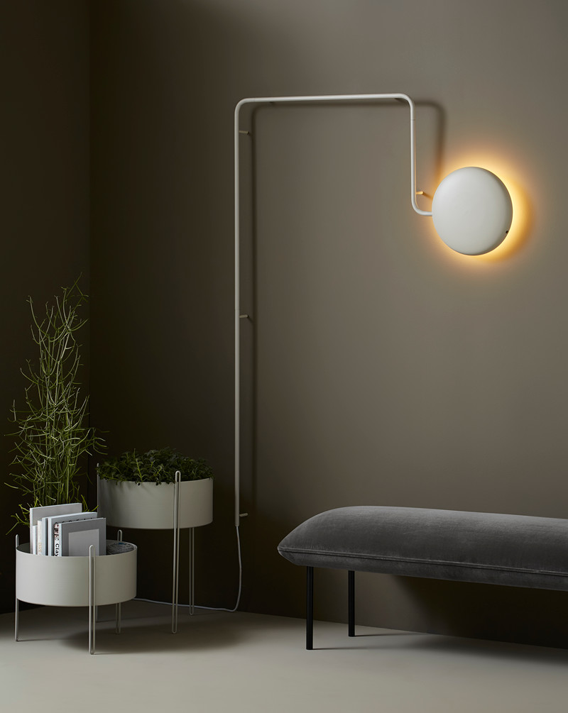 Mercury wandlamp design jeanette holdgaard woud smukdesign for Design wandlamp