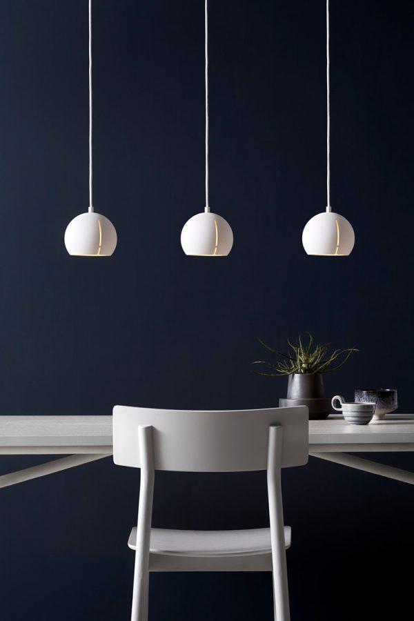 Gap Pendant light Round Gap Hanglamp Rond Design Studio Nur voor Woud