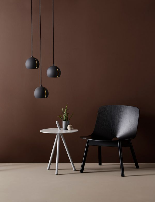 Gap Pendant light Round Gap Hanglamp Rond Design Studio Nur voor Woud