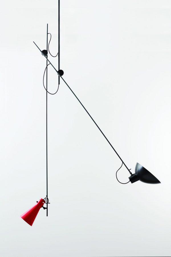 Cinquanta Plafondlamp Cinquanta Suspension Design Vittoriano Vigano Astep