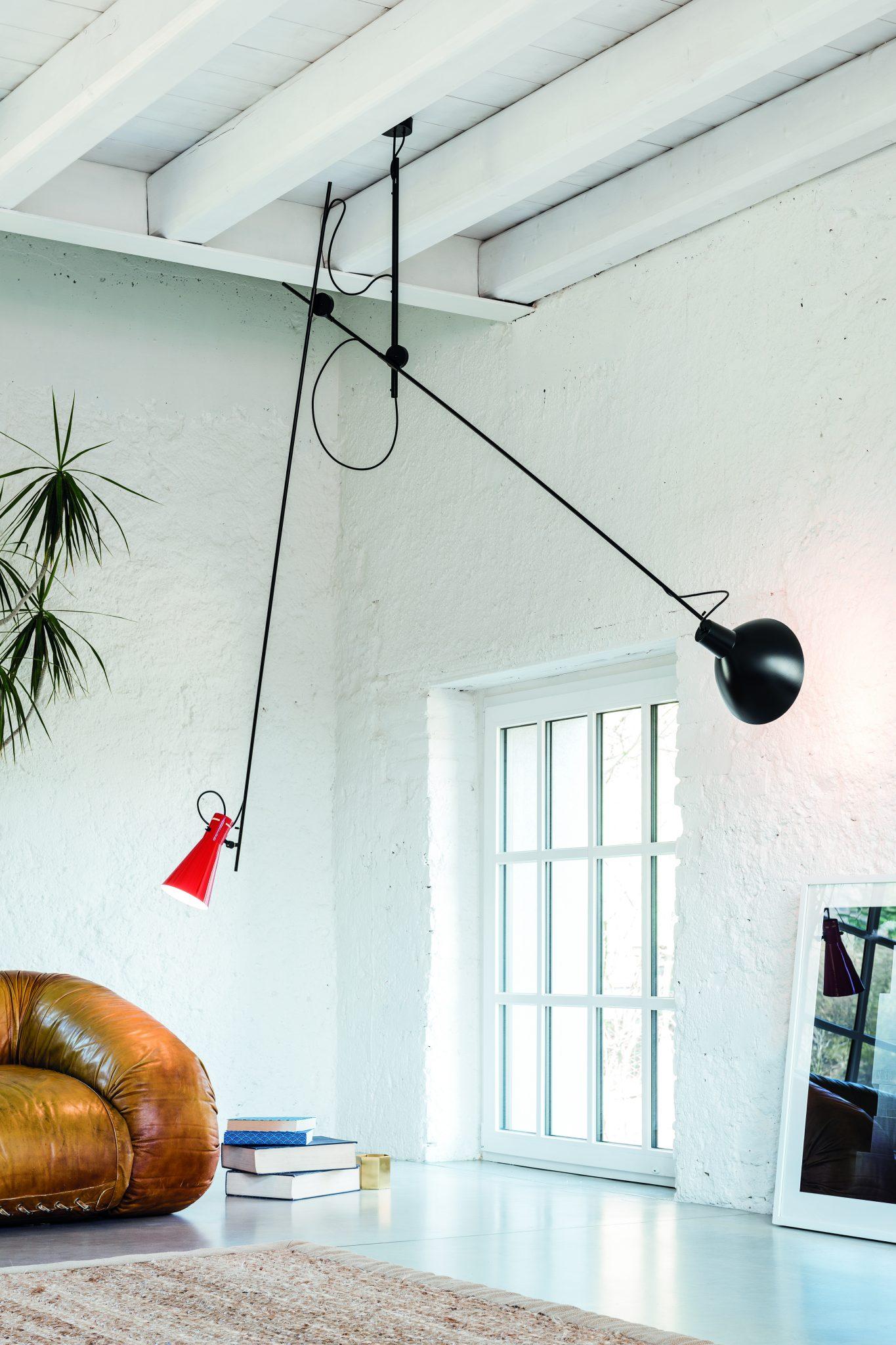 Cinquanta plafondlamp design vittoriano vigano astep for Design plafondlamp