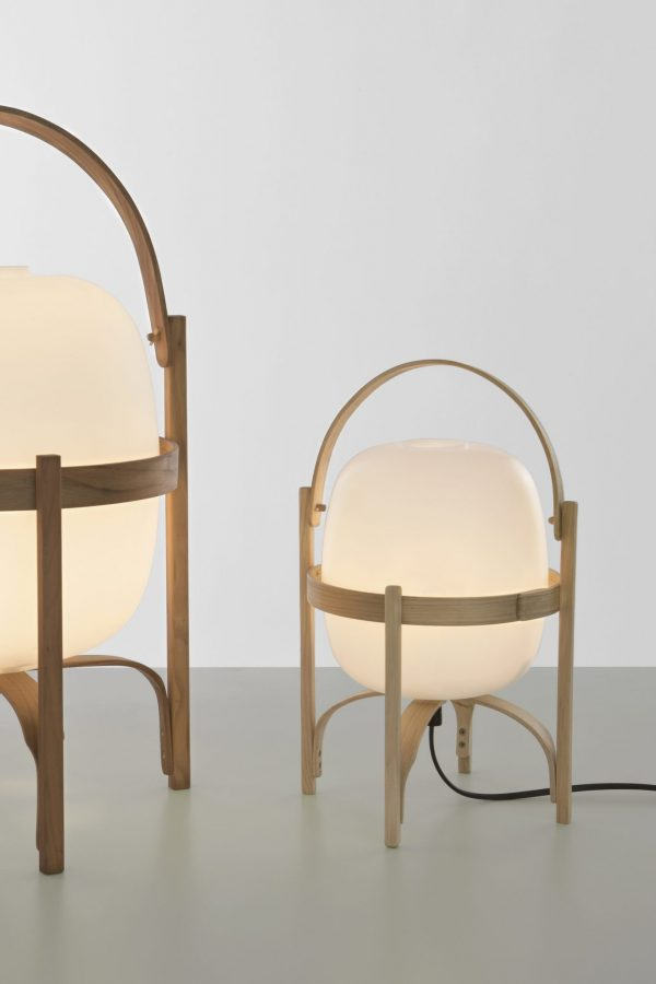 Cestita Tafellamp Cestita Table Design Miguel Mila voor Santa en Cole