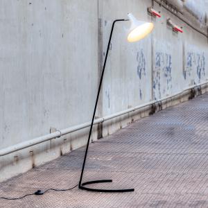 Hoefijzer Vloerlamp nr 1505 ontwerp Hoogervorst Anvia