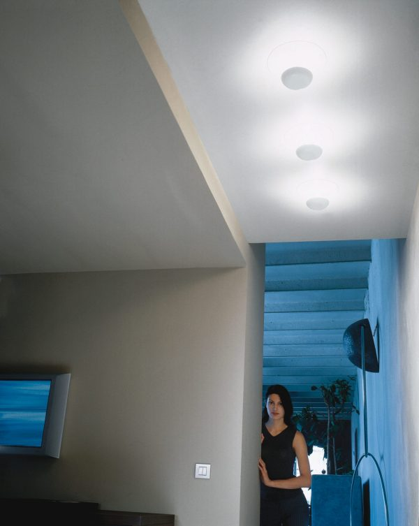 Funnel 2012 LED Plafondlamp Design Ramon Benedito voor Vibia