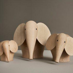 Nunu Houten Olifant Nunu Elephant DesignSteffen Juul voor Woud
