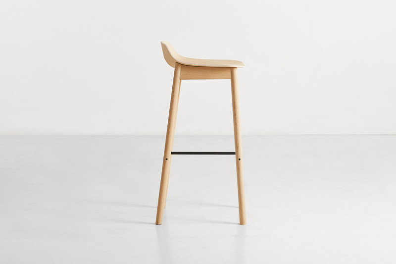 Fine Mono Bar Stool Design Kasper Nyman For Woud Gmtry Best Dining Table And Chair Ideas Images Gmtryco
