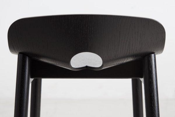 Mono Bar Stool Mono Bar Kruk Design Kasper Nyman voor Woud