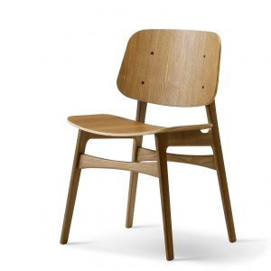 Soborg Stoel 3050 Design Borge Mogensen voor Fredericia