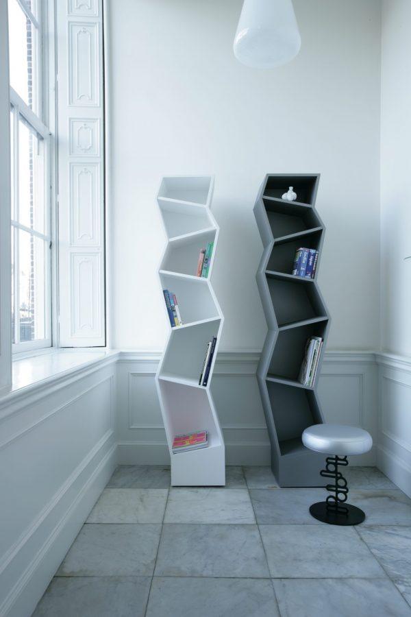 Haberli Bookcase Empire Haberli Boekenkast Empire Boekenkast Design Alfredo Haberli voor Quodes