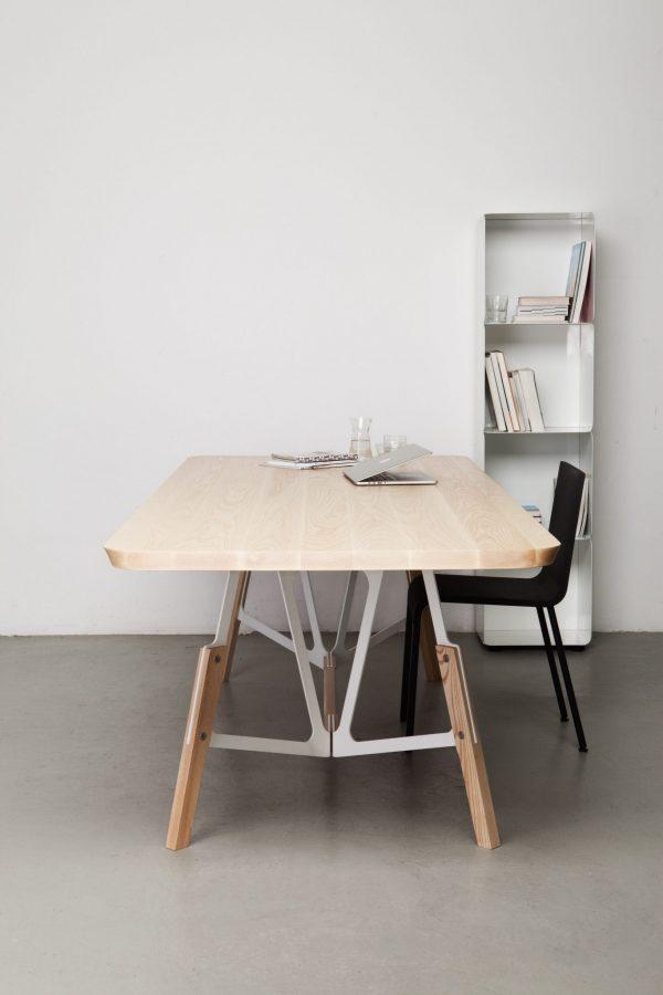 Stammtisch Eettafel Essen Design Alfredo Haberli voor Quodes