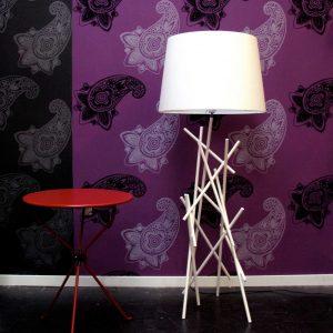 Roots Vloerlamp Design Marc Th. van der Voorn
