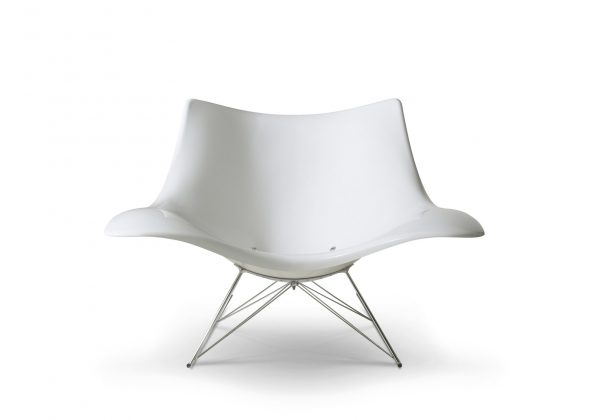 Stingray Rocking Chair Design Thomas Pedersen voor Fredericia