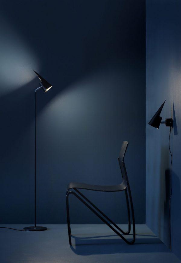 Pik Floor Lamp Pik Vloerlamp Design Tell en Foghammer voor Bsweden