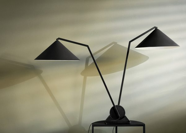 Gear Tafellamp 2 Gear Table Lamp Twin Design Johan Lindsten voor Northern