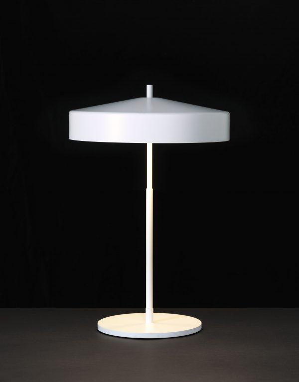 Cymbal Tafellamp Wit Design Helena Svensson voor Bsweden