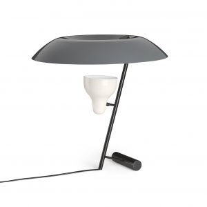 Model 548 table lamp Grey Design Gino Sarfatti for Astep