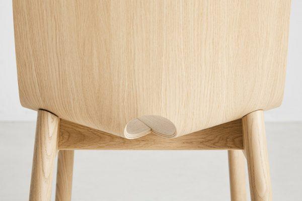 Mono Chair Mono stoel Design Kasper Nyman voor Woud
