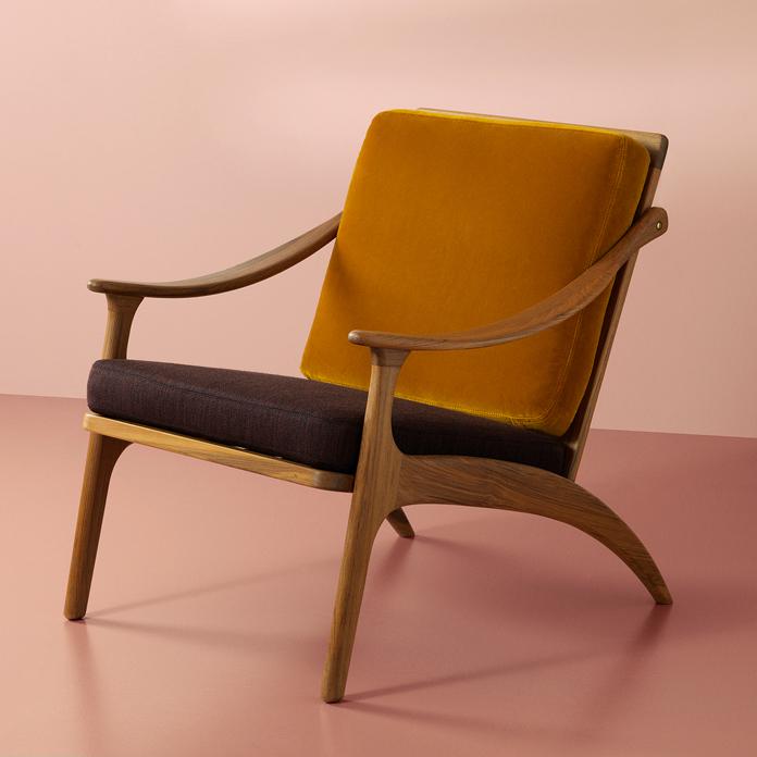 Lean Back Lounge Chair Teak Design Arne Hovmand Olsen Smukdesign