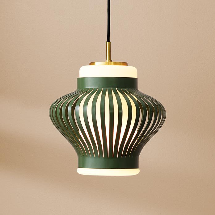 Opal Lamella Pendant Opal Lamella Hanglamp Design Svend Aage Holm Sorensen  Warm Nordic