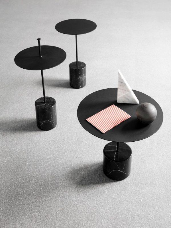 Calibre Sidetable Calibre Bijzettafel Design Böttcher Henssler Kayser Wendelbo