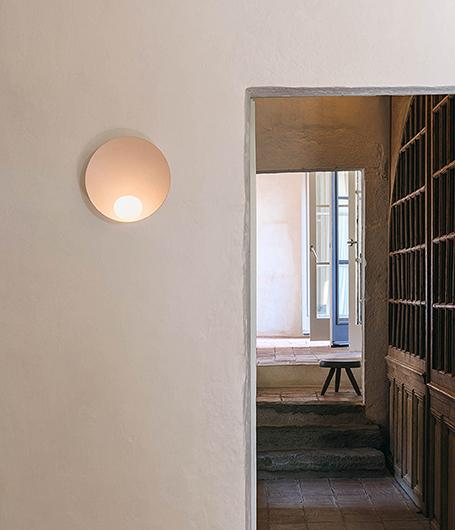 Musa Wall Light Musa Wandlamp by Note Design Studio Vibia