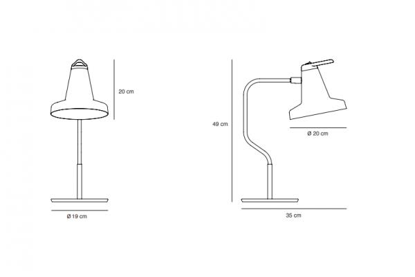 Garcon Table Lamp Garcon Tafellamp Design Nutcreatives Carpyen