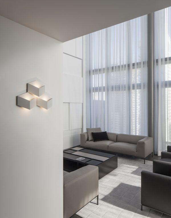 Vibia Fold Wall Light Vibia Fold Wandlamp Design Arik Levy