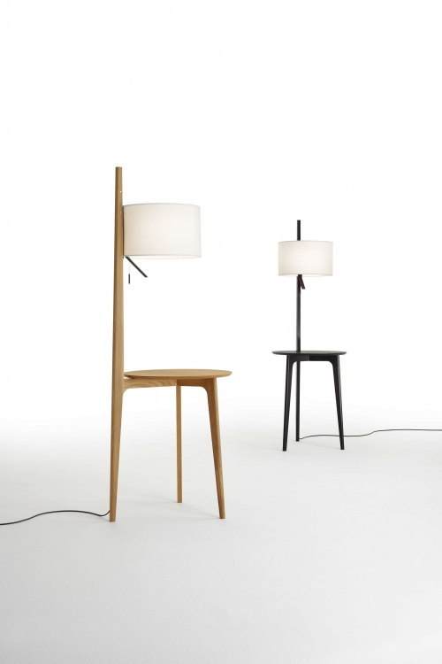 Carla Floor Lamp Carla Vloerlamp Bijzettafel Design Gabriel Teixido Carpyen
