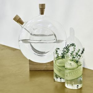 Double Bottle Karaf Design Eva Harlou voor Mater