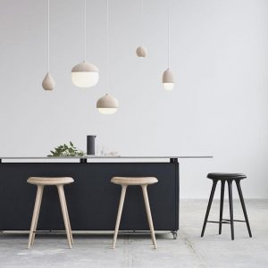 High Stool Counterkruk Design Space Copenhagen voor Mater