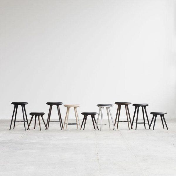 High Stool Barkruk Design Space Copenhagen voor Mater