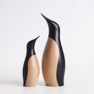 Houten Pinguin Penguins Design by Hans Bunde door Architectmade