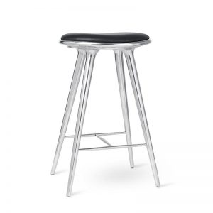 High Stool Aluminium Design Space Copenhagen voor Mater
