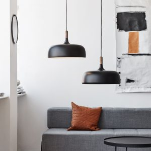 Acorn Pendant Black Acorn Hanglamp Zwart Design Atle Tveit Northern
