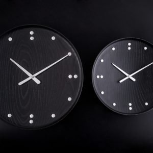 FJ Clock Black FJ Clock Zwart Design Finn Juhl door Architectmade