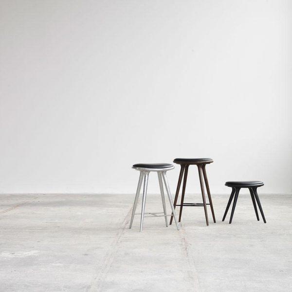 High Stool Aluminium Design Space Copenhagen voor Mater