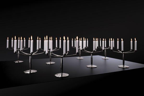 Lucy Kandelaar Mat Zwart Design Marcel Wanders voor Goods