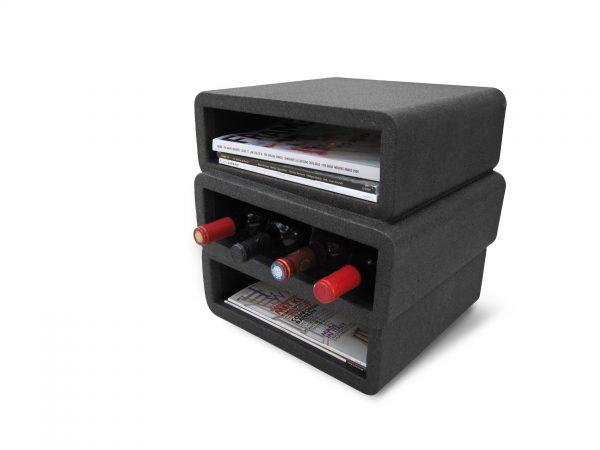 Stack Sidetable Stack Bijzettafel Design Robert Bronwasser voor Goods