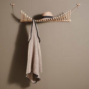 Knaegt Coat Rack Knaegt Kapstok Design Rikke Palmerston voor Woud
