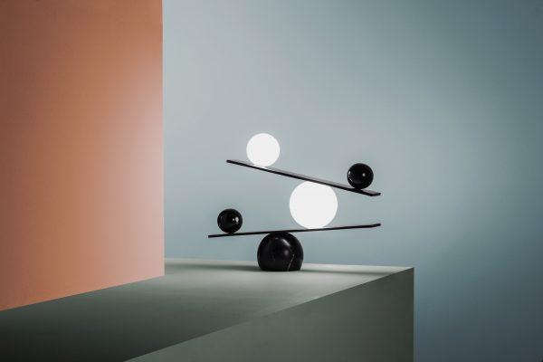 Balance Lamp Balance Tafellamp Design Victor Castanera voor Oblure