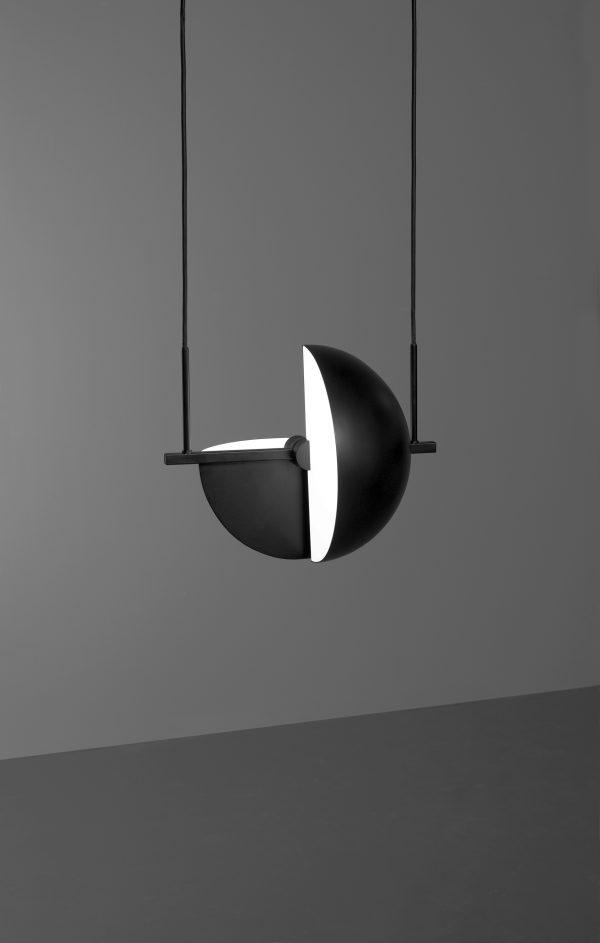 Trapeze pendant Trapeze lamp Design Jette Scheib voor Oblure