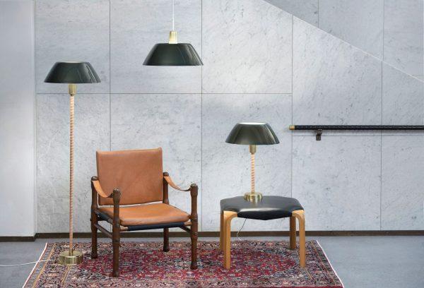 Senator Floor Lamp Green Senator Vloerlamp Design Lisa Johansson Pape voor Innolux