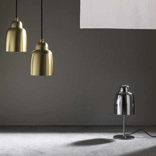 Champagne Pendant Champagne Hanglamp Design Monika Mulder voor Pholc