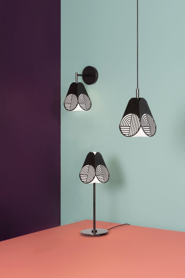 Notic Wall Lamp Notic Wandlamp Design Bower Studio voor Oblure